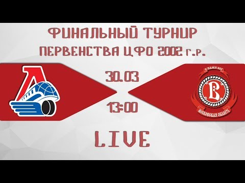 Финальный турнир ЦФО, 2002 г.р: «Локомотив» - «Витязь»