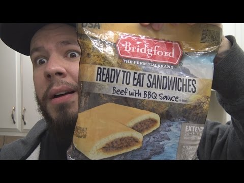 Bridgford Ready To Eat Sandwiches Beef With BBQ Sauce Review - MRWE's