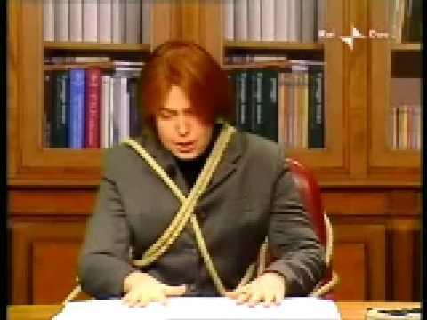 """Sabina Guzzanti – Annozero – """"Lucia Annunziata"""" –  29/01/2009 parte1/2"""