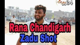 Zadu Shot by Rana Chandigarh || Punjab Casco Cricket