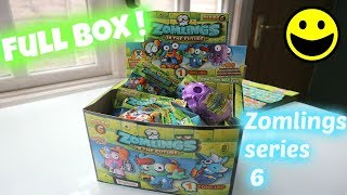 Zomlings series 6 FULL BOX !