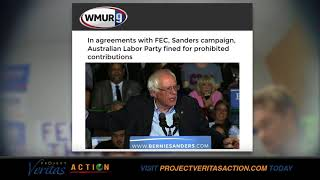 BERNIE SANDERS PAYS FINE - FEC Credits PVA for Exposing Foreign Gov't Election Meddling