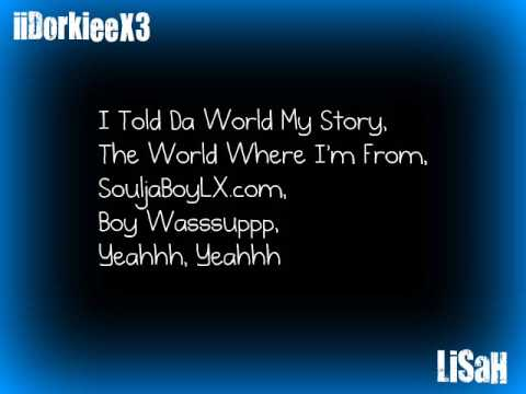 Turn My Swaggg On- SouljaBoy w/Lyrics Video