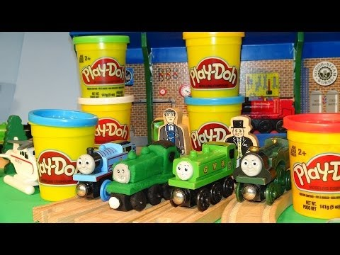 Play Doh Thomas and Friends . we make DUCK out of Play Doh as requested by one of our YouTube Fans
