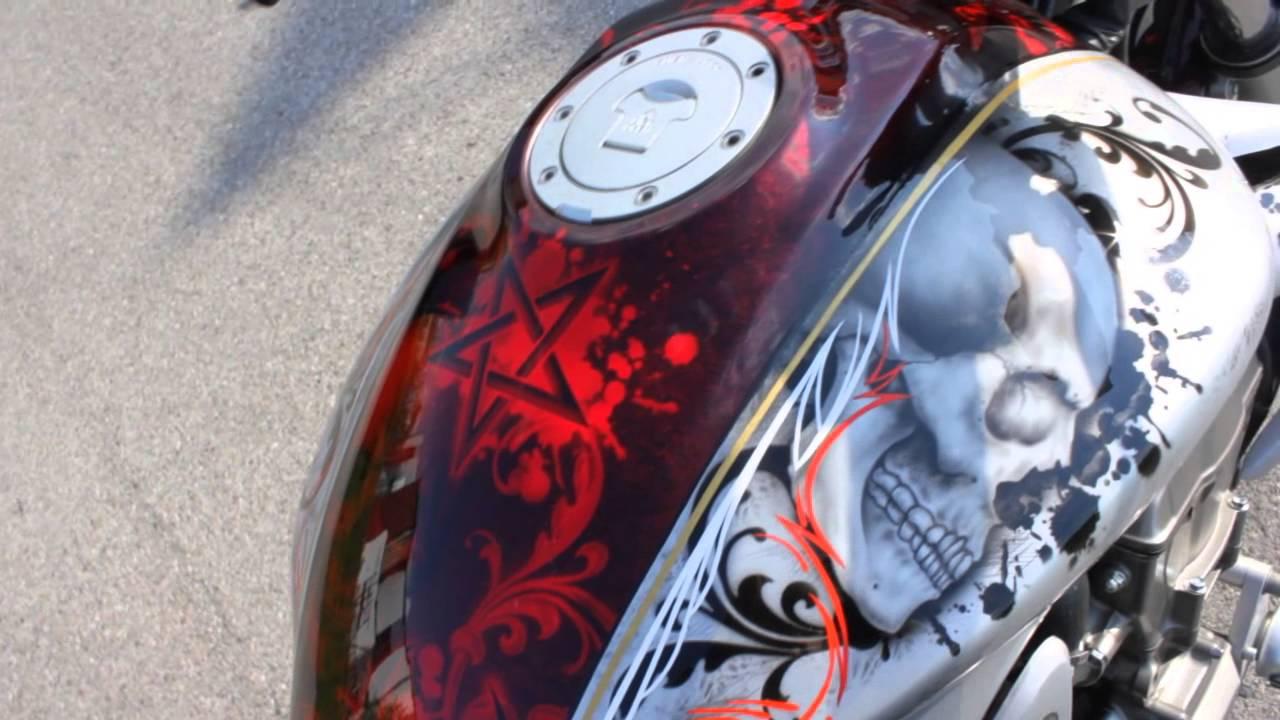 Airbrush Paint Jobs On Motorcycles