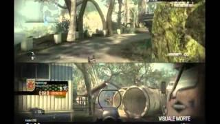 Call of duty ghosts GAMEPLAY xbox 360 deathmath in two