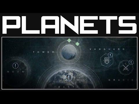 Destiny Planets - The Solar System | Destiny Gameplay