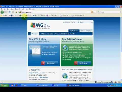 Linkscanner AVG 8.5 Free Virus Removal