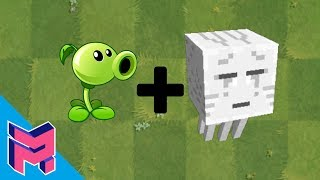 Plants vs Zombies Fusion Hack Animation ( Peashooter + Ghast )
