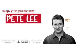 Comedy at The Beach: Pete Lee (full interview)