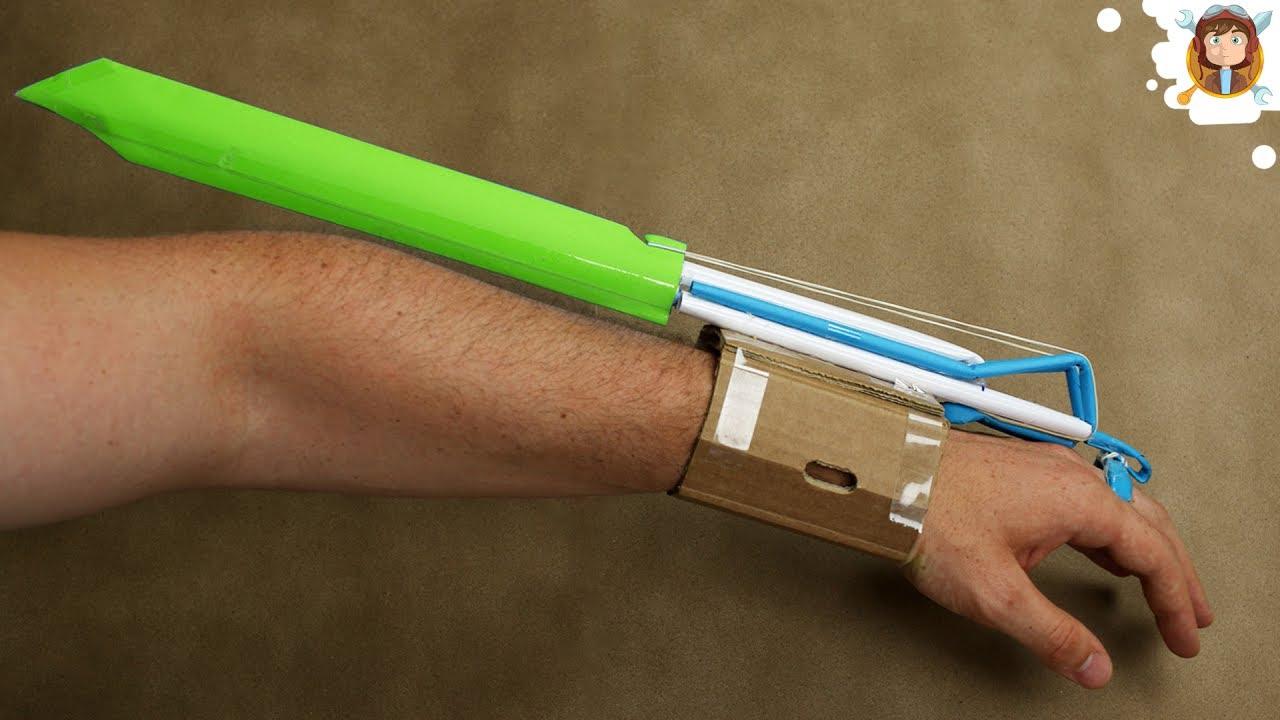 Как сделать из бумаги мечи отшельника