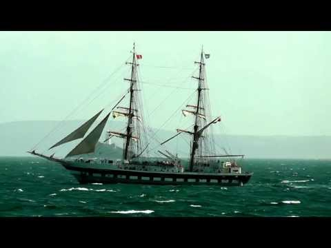 Stavros S Niarchos Sails Past Godrevy Lighthouse