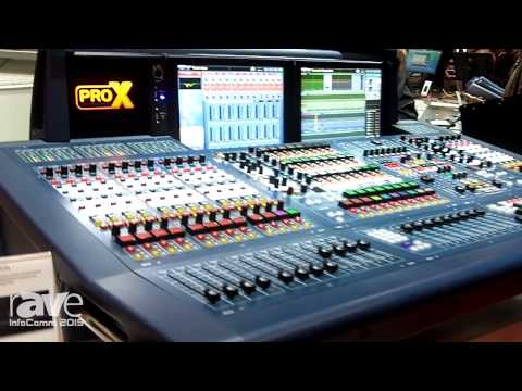 InfoComm 2015: Midas Consoles Showcases Pro X Live Digital Console Control Center
