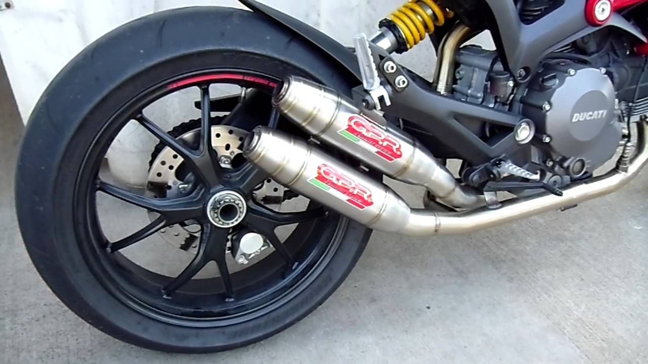 Ducati Hyperstrada Exhaust