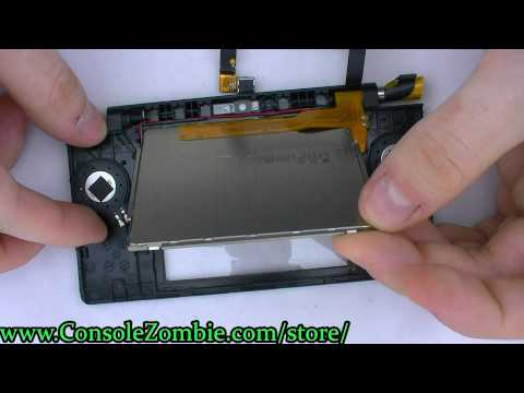 DSi Top LCD Screen Replacement Guide - ConsoleZombie.com