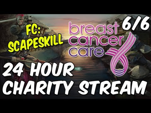 ScapeSkill's 24 Hour Charity Livestream - Breast Cancer Care UK - Part 6/6