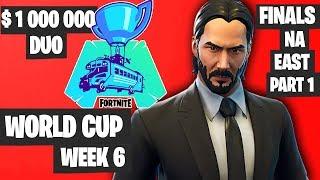 Fortnite World Cup Week 6 Highlights Final NA East Duo Part 1 Fortnite World Cup Highlights 2019