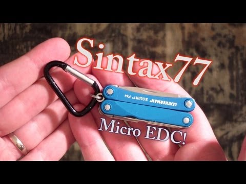 Leatherman Squirt - Ultralight Backpacking and EDC Multi-Tool