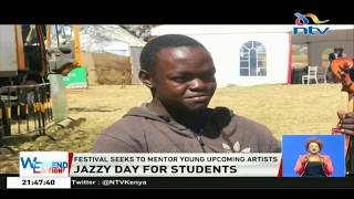 Hundreds of students treated to jazz music at Safaricom International Jazz Festival