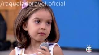 Raquel no Encontro com Fátima Bernardes - 15/02