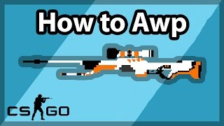 The Basics to AWPing - Peeking, Flicking, and Holding - (CS:GO Tutorial)