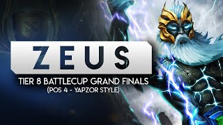 Tier 8 Battlecup Grand Finals (Pos 4 Zues--Yapzor style) -- Draft process included