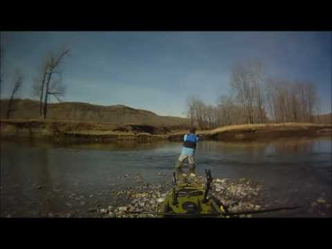 The Jackson Coosa,Kayak Fishing The Bow River