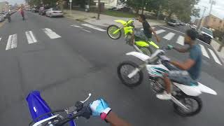 450s attack Broad Street