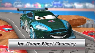 Cars Daredevil Garage ICE RACER NIGEL GEARSLEY game for kids iPhone iPad iOS / Android (Gameplay)