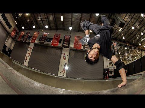 Moto Shibata at the Vans Combi Pool | Monster Energy