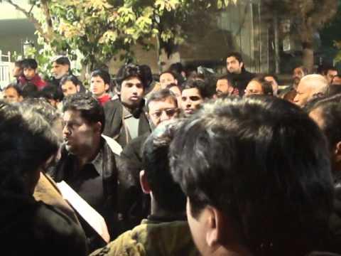 23 Moharam - Markazi Matmi Dasta Rawalpindi - Chadron ka naam sun kr