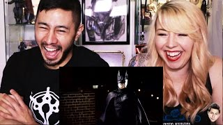 BATMAN VANISHING reaction by Jaby & Tiff Mink!