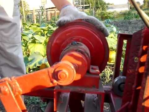 Картофелекопалка для мотоблока