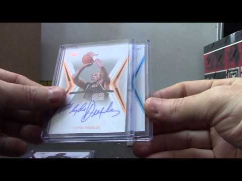 Stout79's 2012/13 Leaf Ultimate Basketball Box Break
