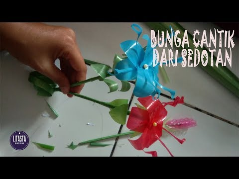 Awesome !! Creative Ideas Create Simple Flower Decorations From Drinking Straws