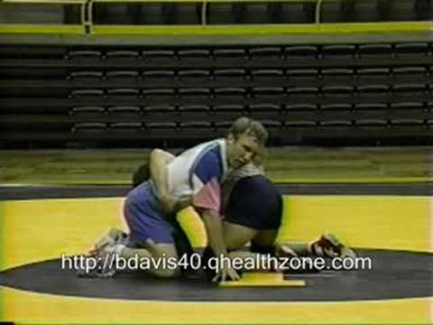 Barry Davis Wrestling Scramble Drill Image 1
