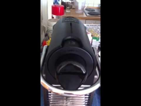 Demontage Nespresso Krups u my Krups Nespresso Machine is