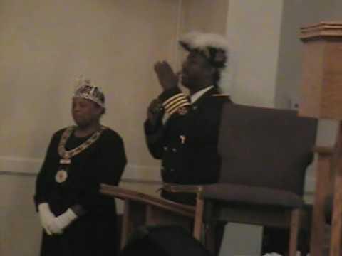 Sir Knight Omar Scaife and Lady Patricia Gordon