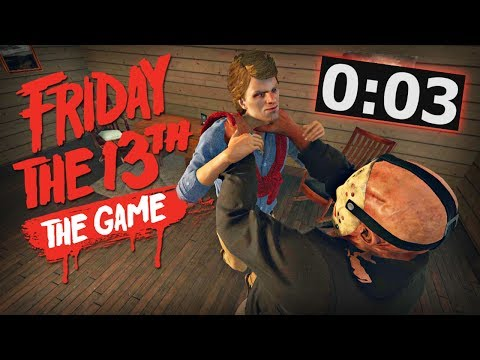 Friday the 13th: The Game - WHAT A BUZZER BEATER!!