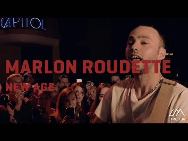 Marlon Roudette - New Age  Live And Unplugged