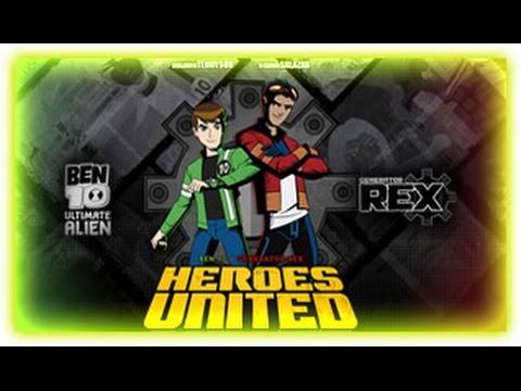 Ben 10 - Generator Rex Heroes United [ Full Gameplay ] - Ben 10 Games