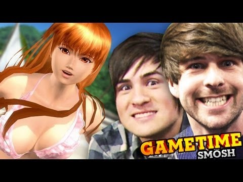 BEACH BUTT BUMPING (Gametime with Smosh)