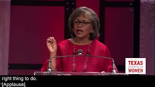Anita Hill Speaks at the 2017 TX Conference for Women