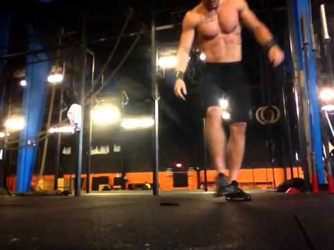 Rowdy Hurst CFW the fittest games WOD 2