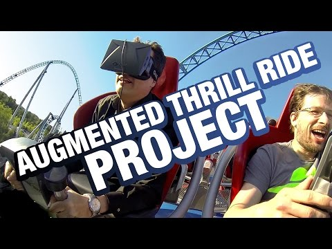 Augmented Thrill Ride Project - The very first Oculus Rift VR rides on real roller coasters