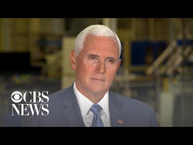 Vice President Mike Pence39s full interview with Major Garrett