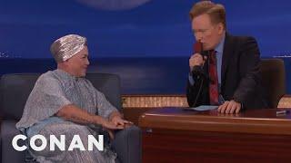 Conan Translates Lea DeLaria's Scat Singing  - CONAN on TBS