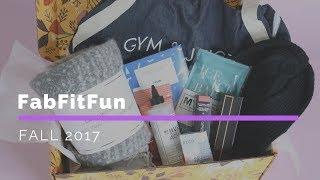FabFitFun Subscription Box Unboxing Fall 2017