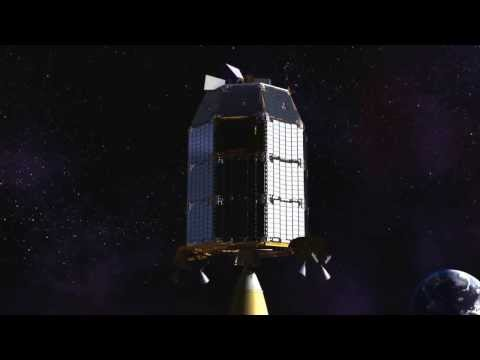 NASA Ames Introduces Ladde Space Craft Animation.