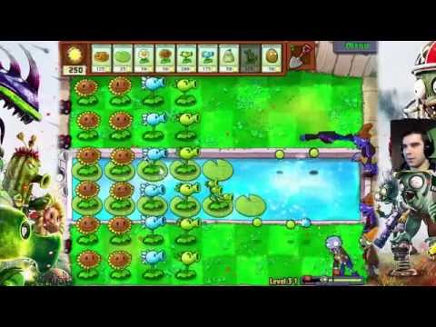 Plants vs Zombies #8 - Na basen!